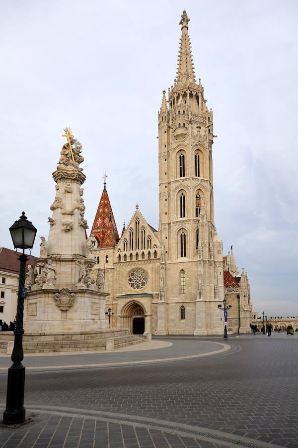 Mathias kyrka Budapest arkivfoto