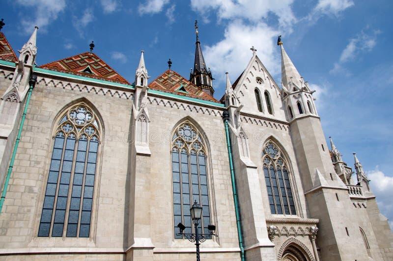 Mathias kyrka, Budapest, Ungern royaltyfri bild