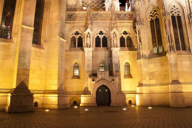 Mathias kyrkadetalj, Budapest, Ungern royaltyfria bilder