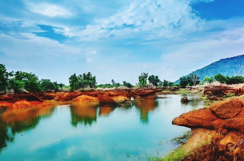 Mathienlanh lake royalty free stock photography