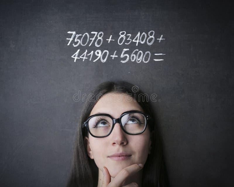 maths photo libre de droits