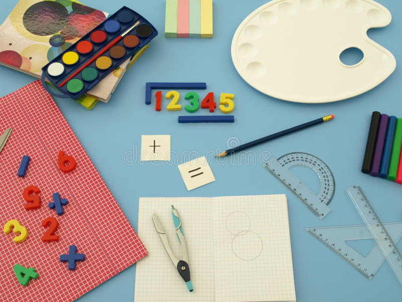 Maths and art stock images