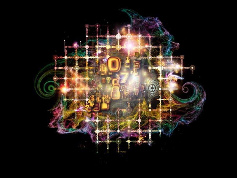 Maths de fractale illustration de vecteur
