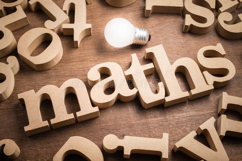 Maths Learning stock photo