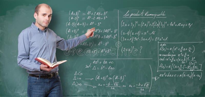 Maths nauczyciel zdjęcie stock