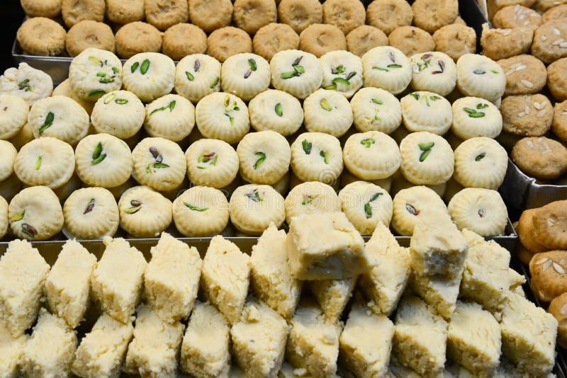 Indiański cukierki - Mathura Peda fotografia royalty free