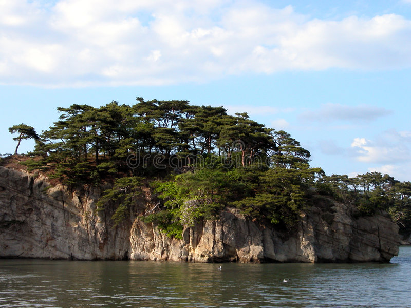Download Mathushima bay stock image. Image of wild, islands, clouds - 140137