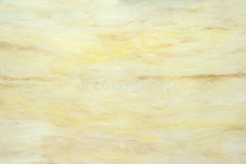 Matière de base d'isolation de laine de verre image libre de droits