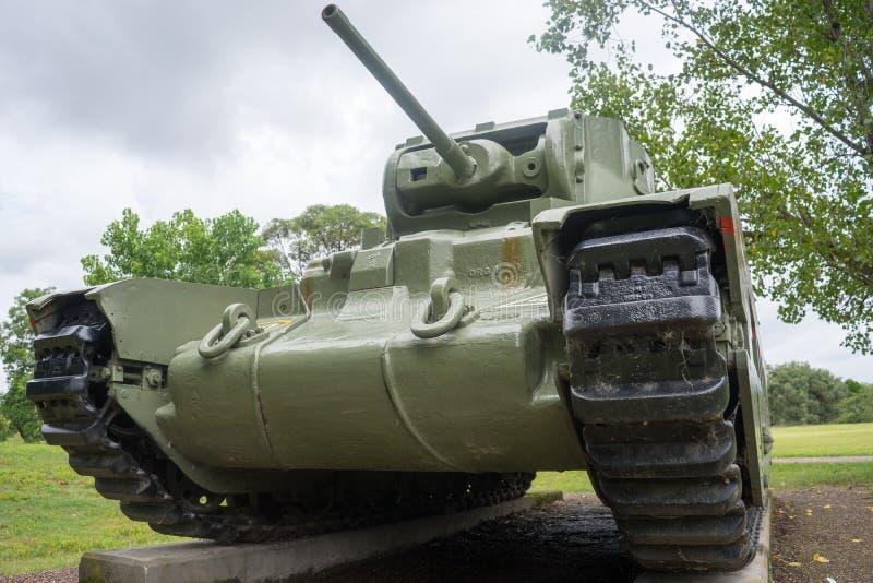 Matilda II Battle Tank stock image