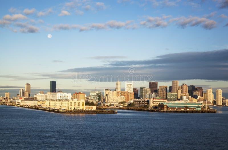Matin à Boston photographie stock libre de droits