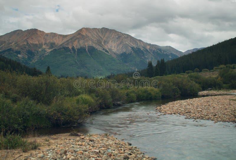 Matin déprimé du Colorado photographie stock libre de droits