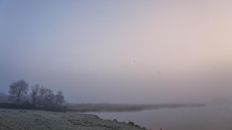 Matin d'hiver en Irlande 3 photos stock