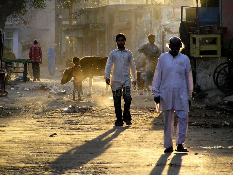 Matin dans l'Inde photographie stock