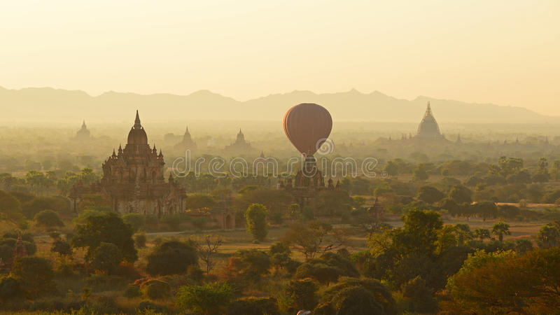 Matin de Bagan image libre de droits