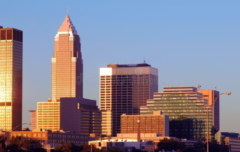 Matin de Cleveland photos stock
