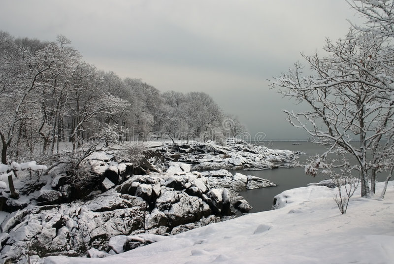 Download Matin de l'hiver photo stock. Image du matin, glace, arbres - 86116