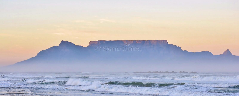 Matin glorieux à Cape Town photo libre de droits