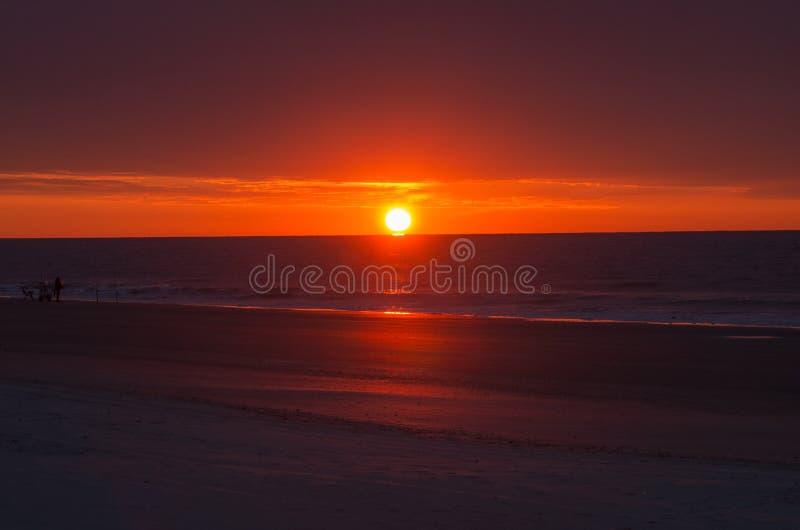 Matin glorieux au-dessus de Myrtle Beach photographie stock libre de droits