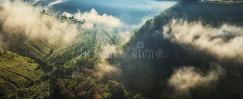 matin pittoresque d'automne photo libre de droits