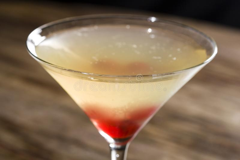 Matini cocktail glass royalty free stock photos