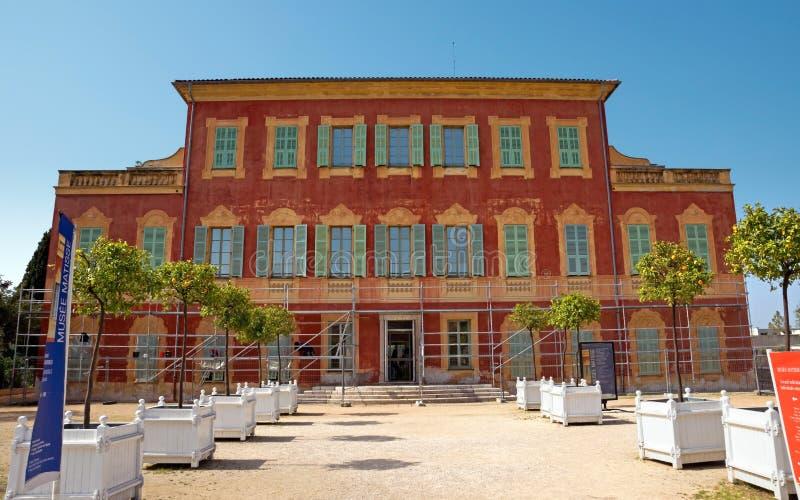 Matissemuseum, Nice, Frankrijk royalty-vrije stock foto