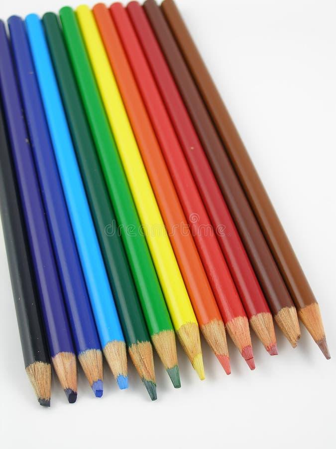 Download Matite colorate immagine stock. Immagine di illustrazione - 221259