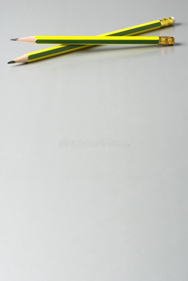 Matite della grafite fotografia stock
