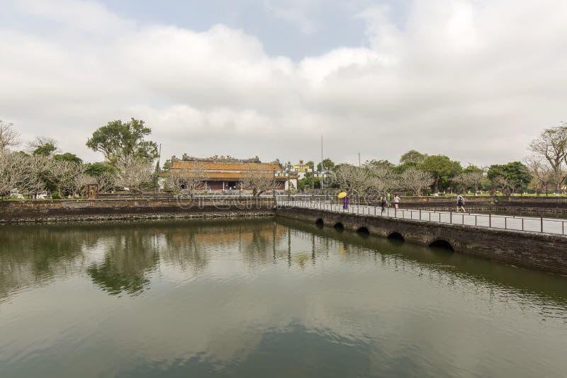 Matiz proibida da cidade, Vietnam imagens de stock royalty free