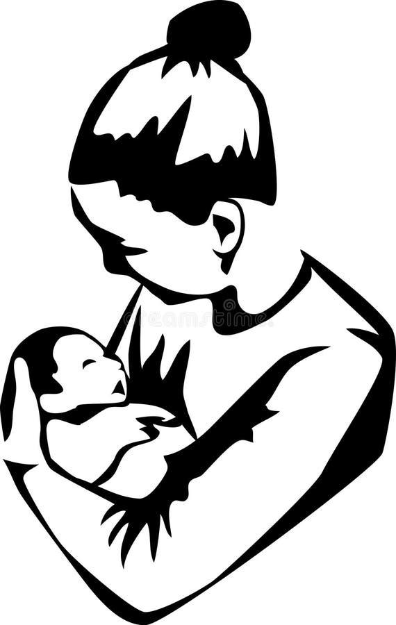 Matka royalty ilustracja