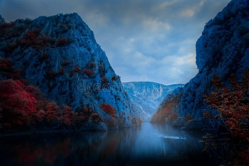 Matka Canyon Republic of Macedonia. CANYON MATKA REPUBLIC OF MACEDONIA royalty free stock photos