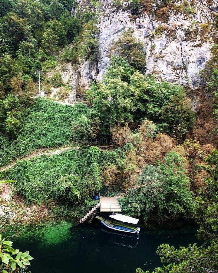 Matka Canyon, Skopje, Macedonia stock photos