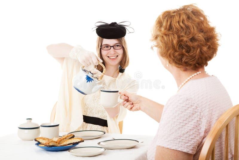 Matka dnia herbata Dla mamy obrazy stock