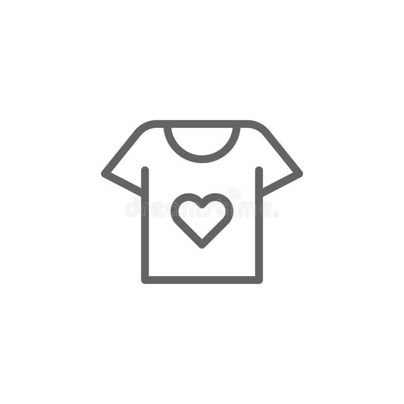 Matka dnia konturu koszulowa ikona r Znaki i symbole mog? u?ywa? dla sieci, logo, mobilny app ilustracja wektor