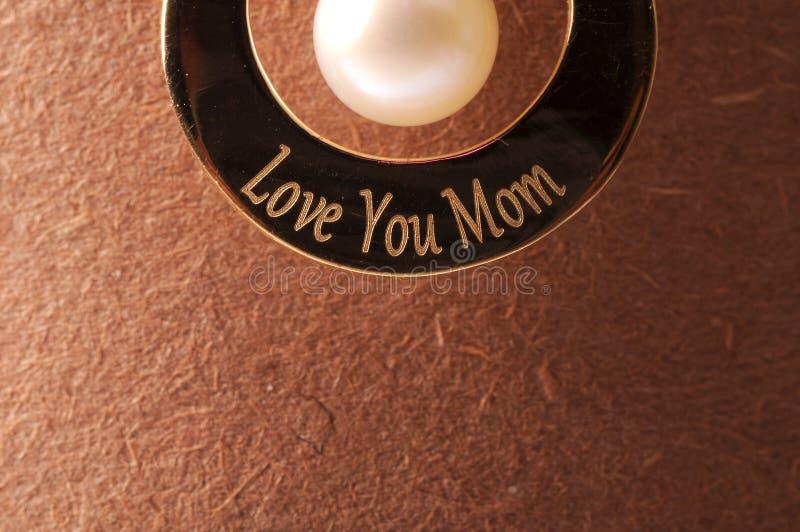 Matka dnia prezent obraz stock