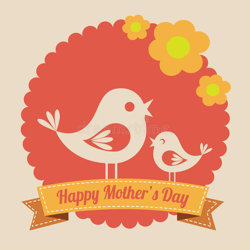 Matka dnia projekt ilustracji