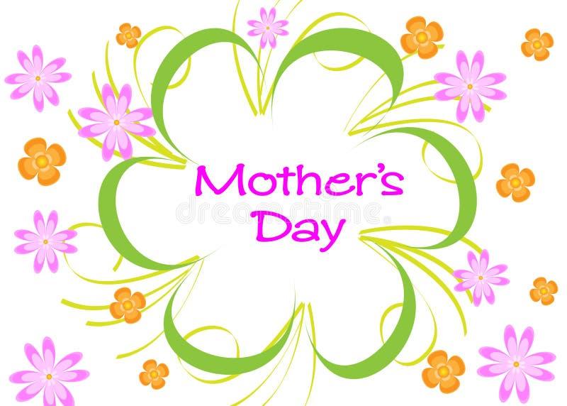 Matka dzień royalty ilustracja