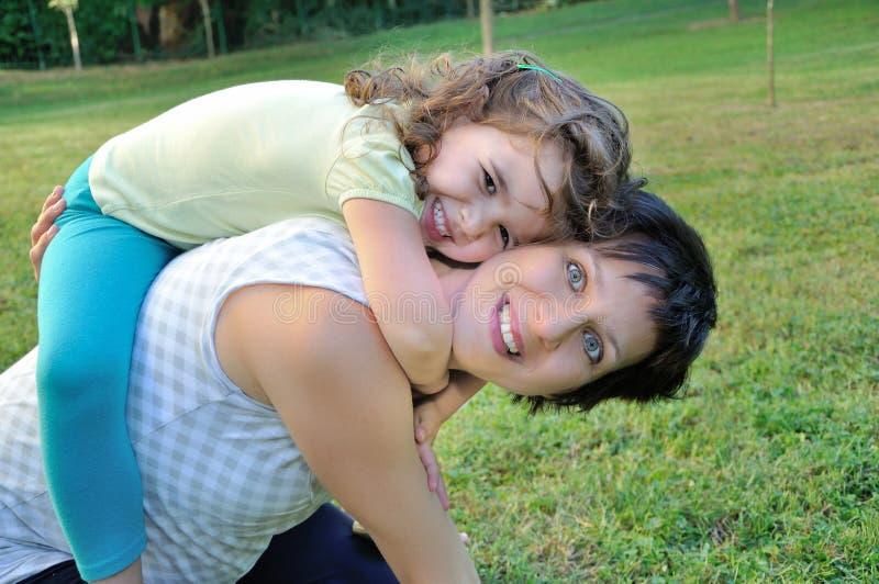 Matka i córka obraz stock