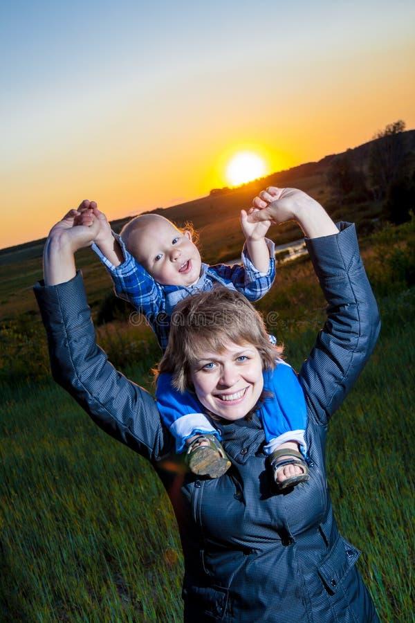 Matka i dziecko fotografia royalty free