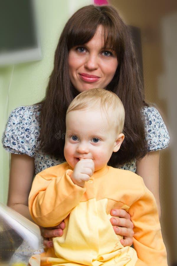 Matka i syn zdjęcia stock