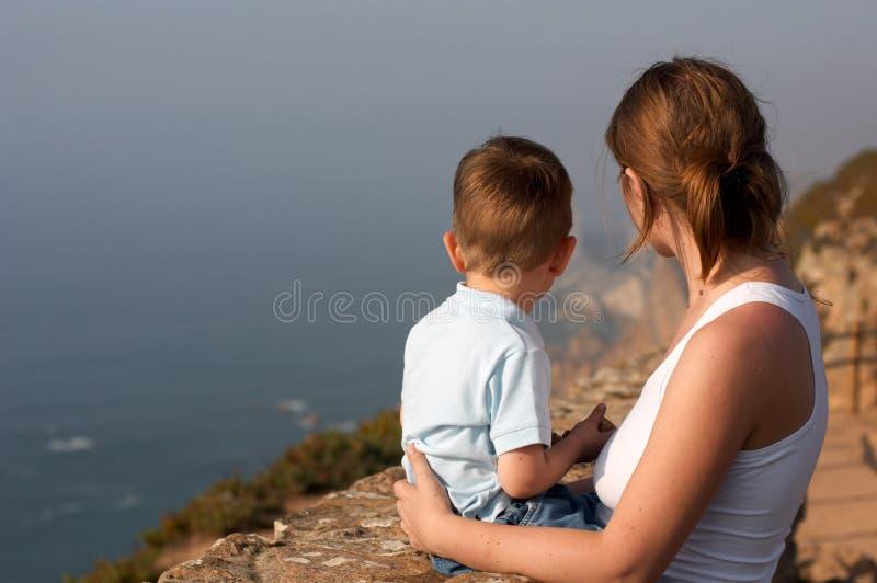 Matka i syn fotografia royalty free