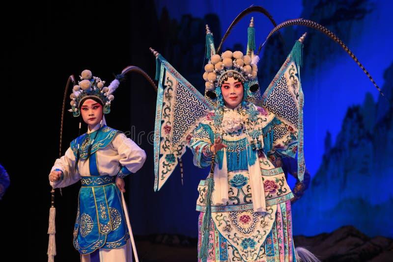 "Matka i syn generała Pekin Opera"" kobiet generałowie Yang Family† fotografia stock"