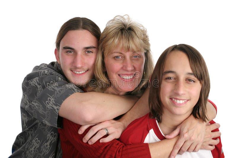 matka synowie obraz royalty free