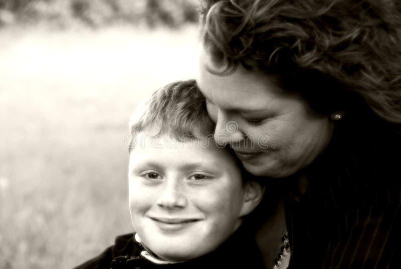 matka synu zdjęcie royalty free