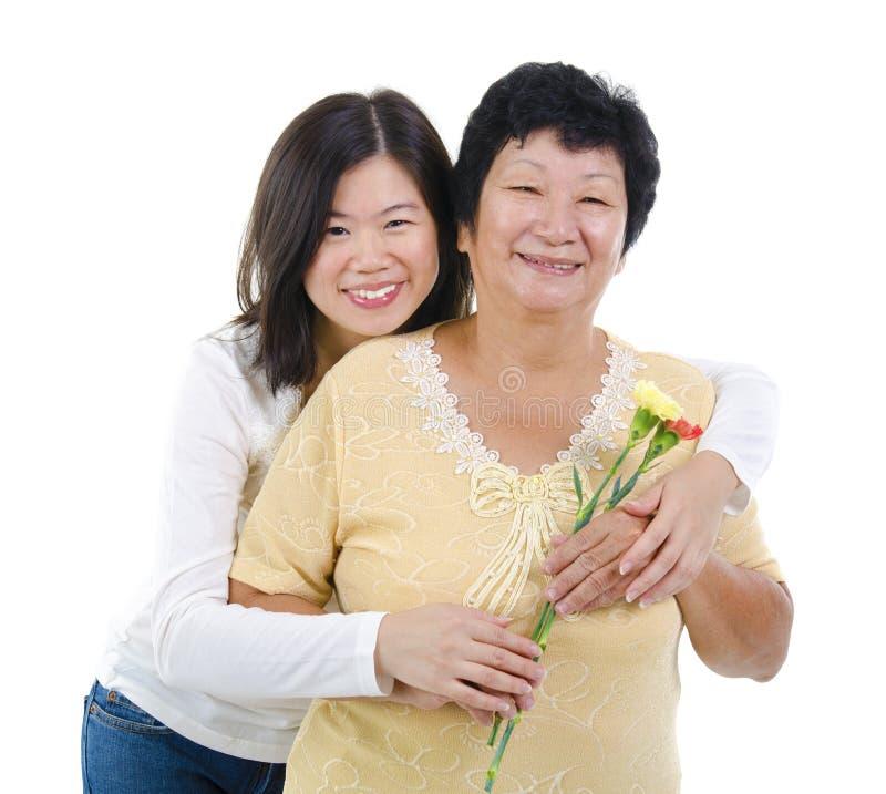 Matka szczęśliwy Dzień. obrazy stock