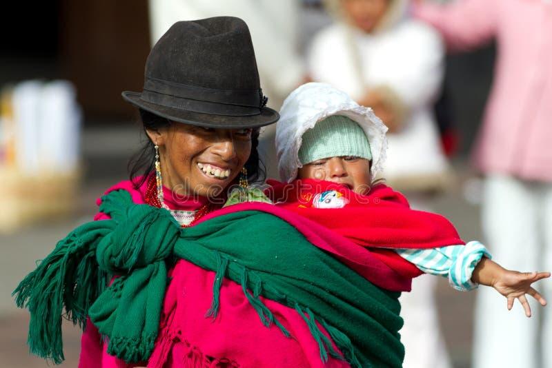 Matka z dzieckiem zdjęcie royalty free