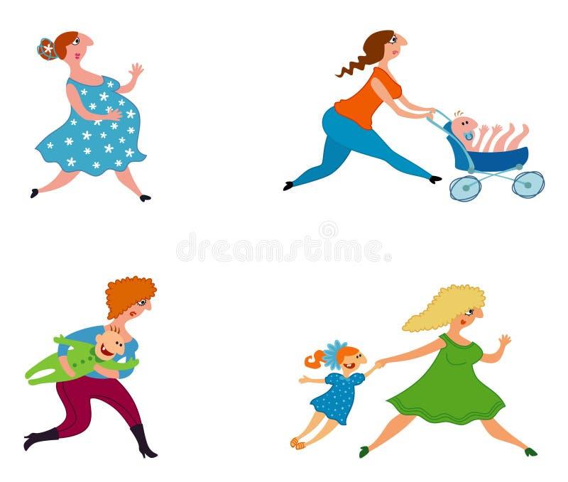 matki ilustracji