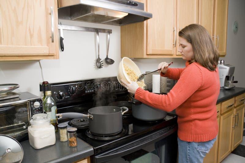 matlagning royaltyfri bild