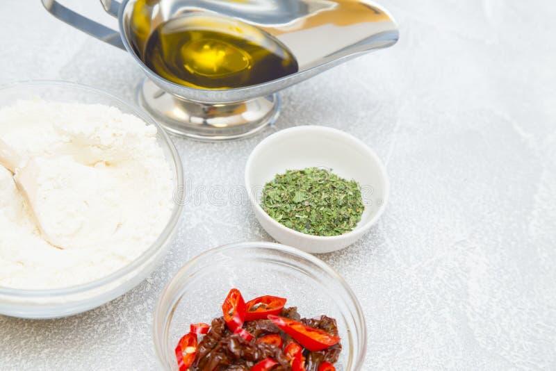Matlagningbegrepp - uppsättning av sunda produkter royaltyfri fotografi