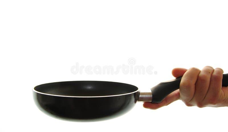 matlagningkastrull fotografering för bildbyråer