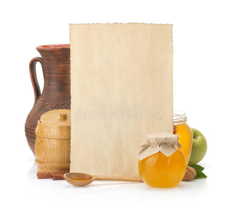 Matlagningreceptbakgrund arkivfoton